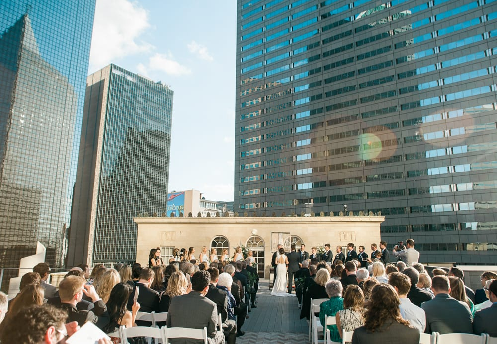The Venue at 400 North Ervay Wedding