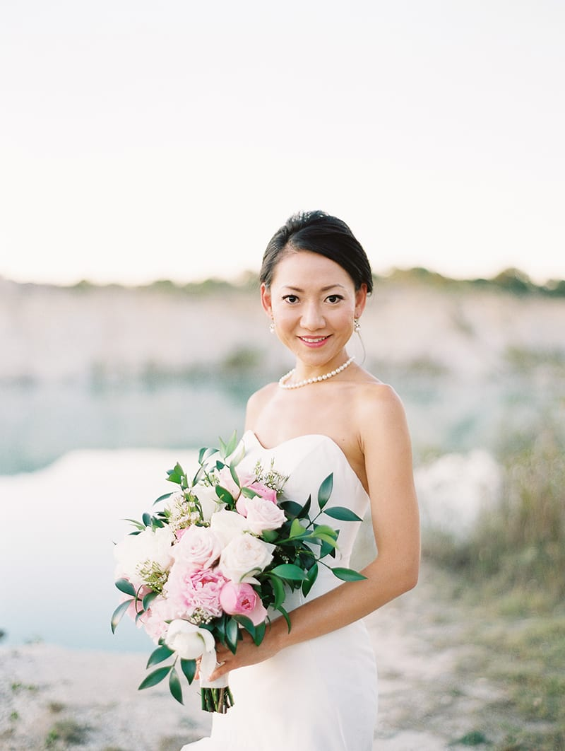 Dallas Quarry Bridal Session
