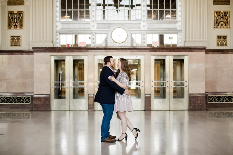 T and P Station Fort Worth Engagement Session